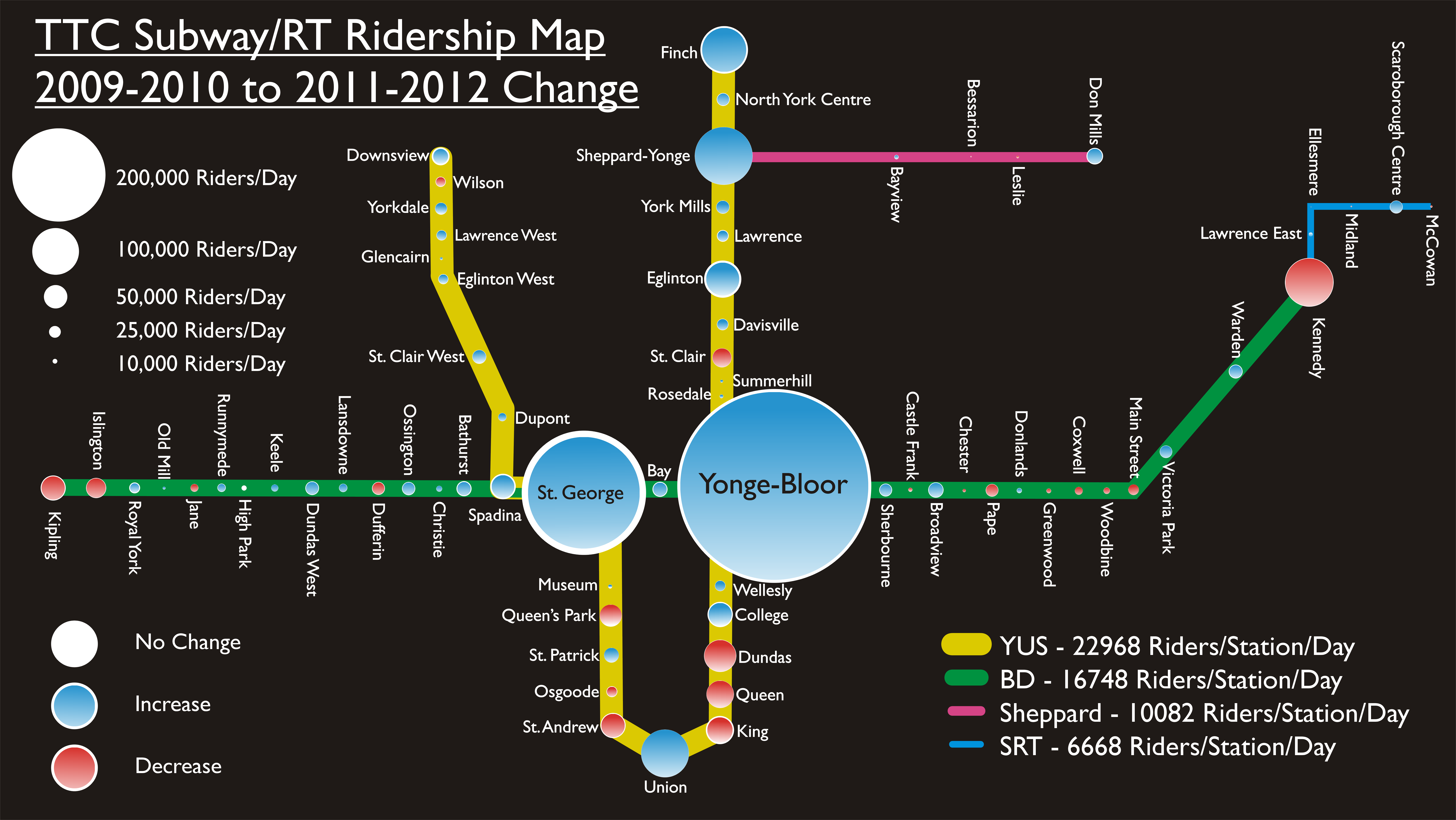 Downsview Subway Station Map